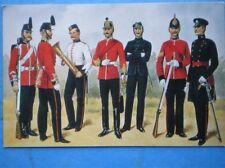 POSTCARD THE KINGS SHROPSHIRE LIGHT INFANTRY 1865 - 1912