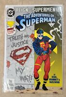Adventures Of Superman # 501  1st App Superboy Conner Kent VF/NM
