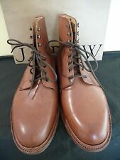 NEW MENS ALFRED SARGENT FOR J.CREW PLAIN-TOE BOOTS, SIZE 10.5, B3008, $550