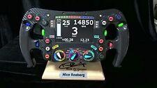 Nico Rosberg F1 Champion replica W07 steering wheel 2016