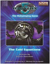 BABYLON 5 - THE ROLEPLAYING GAME - RPG BOOK - THE COLD EQUATIONS 2ND EDITION NEW