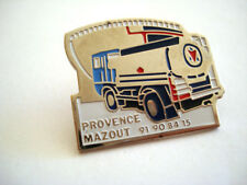 PINS CAMION CITERNE PROVENCE MAZOUT FUEL TRUCK