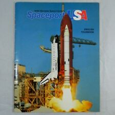 1990 NASA Kennedy Space Center Spaceport USA English Tourbook illustrated book