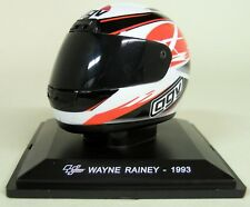 More details for altaya 1/5 scale - wayne rainey 1993 agv moto gp helmet with plinth and case