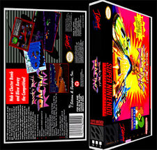 Rock N Roll Racing  - SNES Reproduction Art Case/Box No Game.