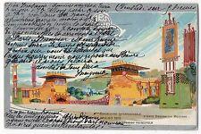 CARTOLINA 1902 ESPOSIZIONE INTERNAZIONALE D' ARTE DECORATIVA MODERNA TORINO 1902