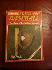 1991 Edition Avalon Hill Statis Pro Baseball Game