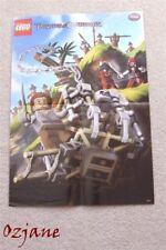 Lego Piratas Del Caribe Foto Poster la Cannibal Escape 42cm X 30cm
