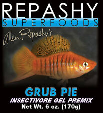 REPASHY Grub Pie 85g EXPRESS POST quality gel fish food pleco catfish shrimp
