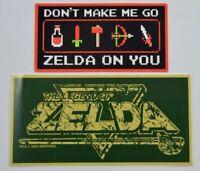 2004 - Sticker original Nintendo Zelda Link rare Gamecube USA NEW neuf