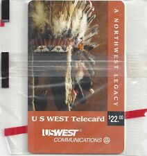 TK Telefonkarte/Phonecard US West $1. Mountain Hiker Complimentary