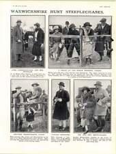 1922 Warwickshire Hunt Steeplechase capitaine Temkin Lady Betty Butler