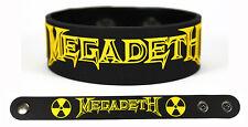 MEGADETH Rubber Bracelet Wristband Thirteen Super Collider