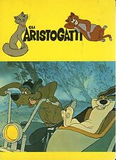 Quaderno Walt Disney:Gli ARISTOGATTI colore giallo