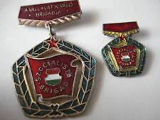 Hungary Hungarian Medal Socialist High Brigade Soviet Labor Lot Set