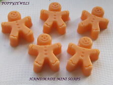 GINGERBREAD MEN CHRISTMAS SPICES MINI MIX CHRISTMAS CRACKER STOCKING FILLERS [1