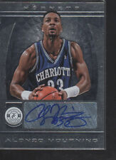 ALONZO MOURNING 2013-14  PANINI TOTALLY CERTIFIED SILVER SIGNATURES AUTO  #69