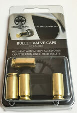 Bullet Valve Stem Caps (.40 Caliber) - Gift Pack - Hollow-Point Gear