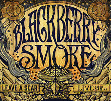 Leave a Scar Live in North Carolina 2cds DVD Blackberry Smoke Audio CD
