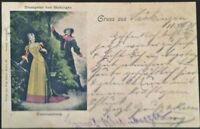 AK TROMPETER VON SÄCKINGEN 1898