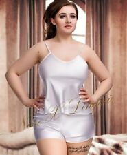 Patternless Short Pyjama Sets for Women