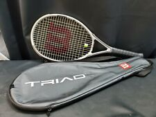 Wilson Triad 3.0 Oversize 115 Head-Si 3.0 Tennis Racquet Power Confort Control