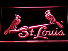 New Custom St Louis Cardinals LED Neon Light Signs Bar Man Cave 7 colors u pick