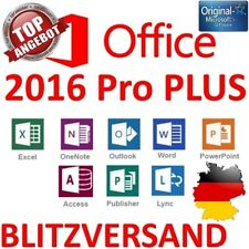 Microsoft Office 2016 Professional Plus MS Office 2016 Pro Plus Key Deutsch Neu