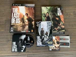 The Last of Us Survival Edition Sony PlayStation 3 PS3 Game Limited Art book