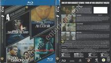 Shutter Island / Aviator / Blood Diamond / Body of Lies (Blu-ray SLIPCOVER ONLY)