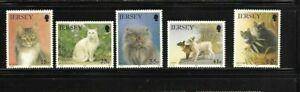 Jersey 1994 Cats set MNH