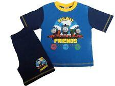 Thomas Tank Engine Railway Friends Blue Pyjama Top Shorts 18 Months