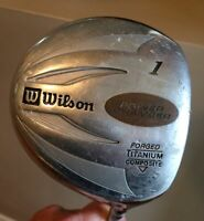 Wilson Power Chamber Forged Ti Driver Men's Flex Graphite Shaft
