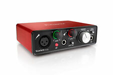 Focusrite Scarlett Solo 2nd Gen USB Audio Interface with Pro Tools and Ableton