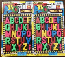 Ja-Ru Fun With ABC's Alphabet Set - 27 Piece Set - Pack of 2 (54 Pieces Total)