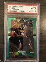 2019-20 Panini Prizm Bol Bol Green Rookie PSA 10 Denver Nuggets RC
