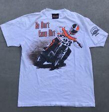 Vintage 1991 Harley Davidson Bo Dont Know Dirt T Shirt Racing Camel M Rare 90s