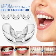 3 Stage Dental Orthodontic Teeth Corrector Braces Tooth Retainer Straighten Tool