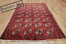 OLD WOOL HAND MADE ORIENTAL FLORAL RUNNER AREA RUG CARPET 180x112CM