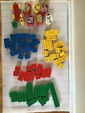Lego Duplo with Yellow Clear Plastic Storage Container Big Sizes Lego