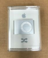 New Factory Sealed Apple iPod Shuffle 2nd Generation Silver (2 GB) A1204