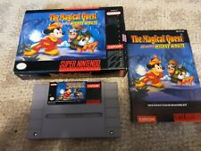 Vintage Super Nintendo Magical Quest Starring Mickey Mouse SNES CIB Complete