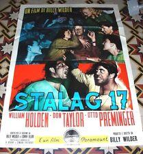 STALAG 17 manifesto Poster 100x140 cm billy wilder william holden