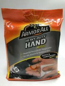 Armorall Heavy Duty Hand Wipes Pack Of 15