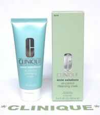CLINIQUE Acne Solutions Oil-Control Cleansing Mask (3.4oz/100 mL) Full Size NEW