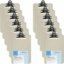 Business Source Clipboard Spring Clip 6x9 Smoke 12 Clipboards Bsn01859bx