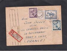 Echte Briefmarken mit Bedarfsbrief österreichische