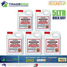 Glyphosate Weed Kill 360gL 5LTR PRO Grade Herbicide Killer Spray 5L Eqv/ Roundup