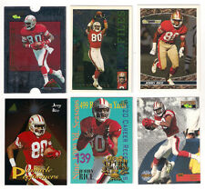 1993 TOPPS 49ERS JERRY RICE BLACKGOLD  INSERT CARD #12