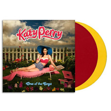 Katy Perry - One Of The Boys Vinyl 2xLP Red Yellow Sealed New